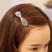 Know Richie first Korean fashion rhinestone Pearl Butterfly clip hair clip Lady diamond hair accessory jewelry
