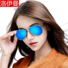 洛伊曼女士太阳镜偏光墨镜男潮人炫彩眼镜司机眼睛情侣驾驶蛤蟆镜