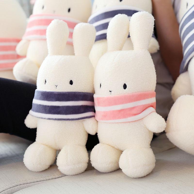 可爱波波兔子毛绒玩具