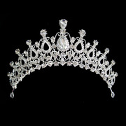 Shi Huanqi H149 genuine Flash gorgeous high-end bridal tiaras wedding Show drill retro alloy Crown
