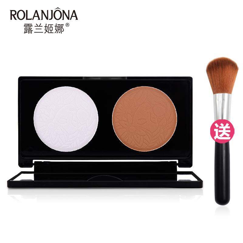 el relieve tambin la cara de iluminar nariz de imagen de polvos de maquillaje la sombra