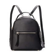Ou Xuan 2015 new Europe, riveted leather backpack girl Korean version flows cowhide mini backpack