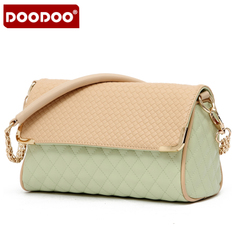 Doodoo2015 new female Bao Qiu rhombic chain shoulder bag ladies diagonal mini bag surge