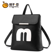 JOOZ are trapezoid backpack girl Korean version of tide and leisure Institute Wind Street dual-use bag travel girl backpack