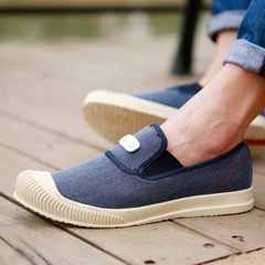 Microphone Ta spring 2016 new canvas shoes men Korean Air low man men's shoes casual English shoes