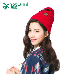 Hot bow hats women's wild winter fashion wool hat knitted Cap P006W5411