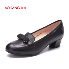 Aokang shoes new style light crude with a low bow shoes fashion shoes shoes shoes authentic email