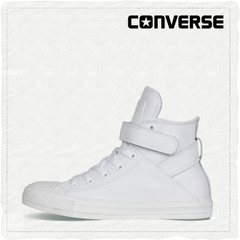 CONVERSE匡威官方 All Star Brea Leather牛皮魔术贴 549582C