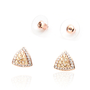 Elegant rhinestones Butterfly na lovely inlaid small diamond stud earrings Lady joker full rhinestone earring flashes Flash jj22