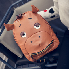 United States around 2015 winter new Korean fashion trend of cartoon backpack bag school bag woman bag backpack