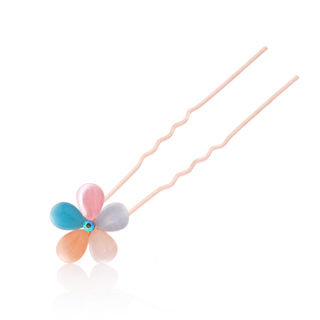 Good jewelry hair accessory Korea head small hairpin u Chuck plum pin Korean hair clip card