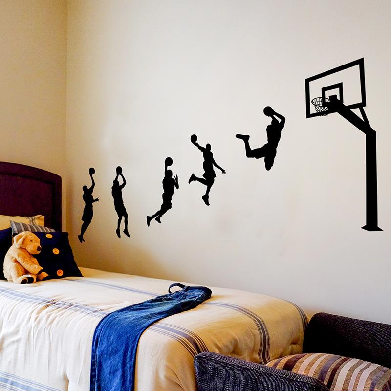 男生寝室宿舍墙贴纸学生卧室房间装饰品创意励志布置贴画篮球海报