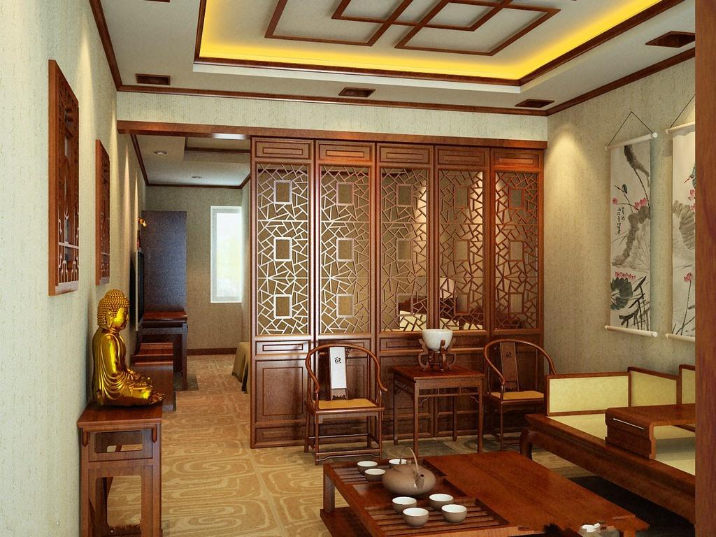 板雕花板欧式隔断镂空通花板客厅中式装修花格背景