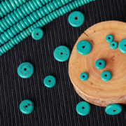 Like Blue-Turquoise-Turquoise-color separated beads spacer spacer loose beads 6/8/10/12/14mmDIY beads