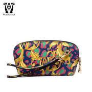 Wan Lima 2015 new lady hand bag European fashion casual color leather hand bag clutch bag