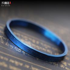 力源居 开光加持蓝药师佛男女手镯药师心咒情侣手环佛教首饰