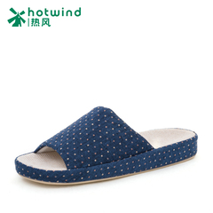 Hot Lady leisure simple indoor slippers at the end of spring and autumn and winter home slippers women H31W5404