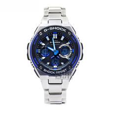 卡西欧casio手表G-SHOCK太阳能运动防水男士腕表GST-W100D-1A2
