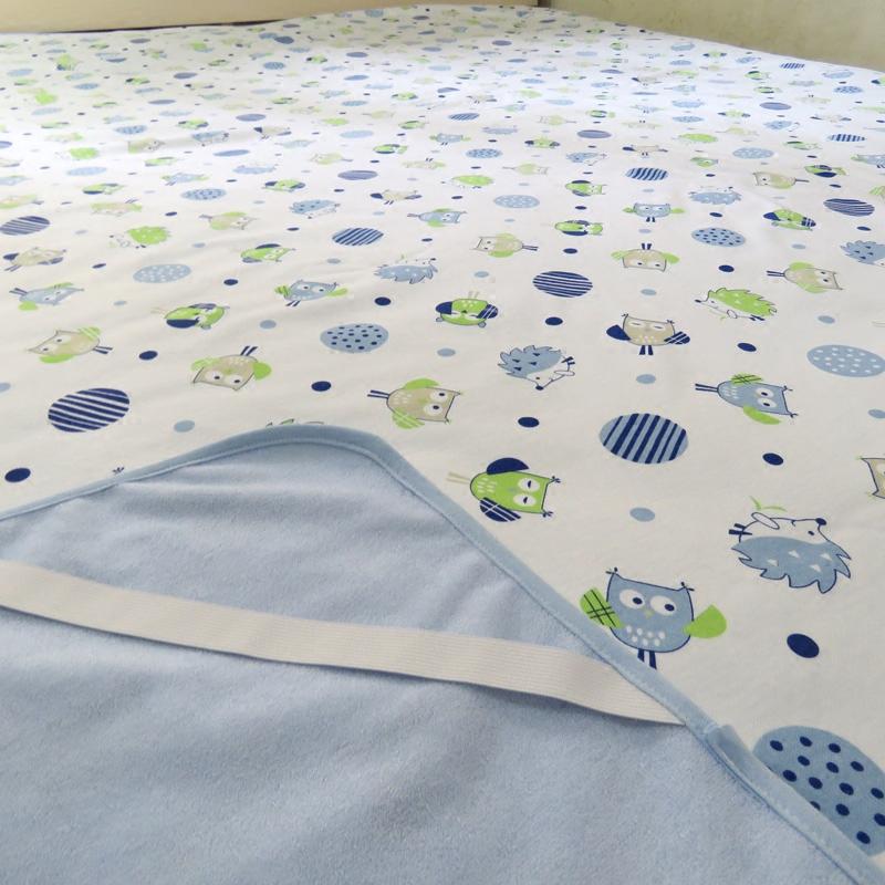 1.8米*2米婴儿隔尿垫防水纯棉超大可洗透气四季双面儿童尿垫成人