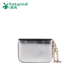 Hot new fashion double fastener female card card-the first layer leather cute card holder 5105H5704