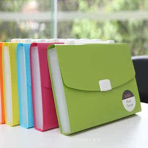 文具a4手提文件夹 商务风琴包文件袋票据收纳资料袋试卷文件包