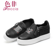 Faiccia/non fall 2015 limited authentic new counters within the round head high women's shoes shoes 5C06