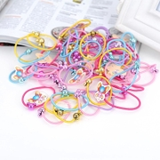 Know Richie Korean new children''s tiara Candy-colored cartoon hair accessories hair band hair rope accessories rubber hair bands