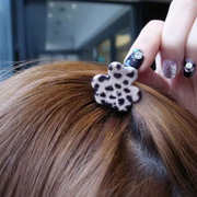 Cool na catch made by the Korean hair Leopard print hair clip bangs clip clip Clip issuing small claw-6180
