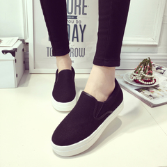 Hero 2016 sheep spring espadrilles Korean shoes flat shoes women's shoes pedal student casual shoes women