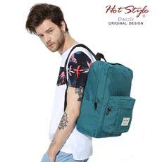 HOTSTYLE简约防水双肩包男旅游背包书包中学生女运动休闲电脑背包