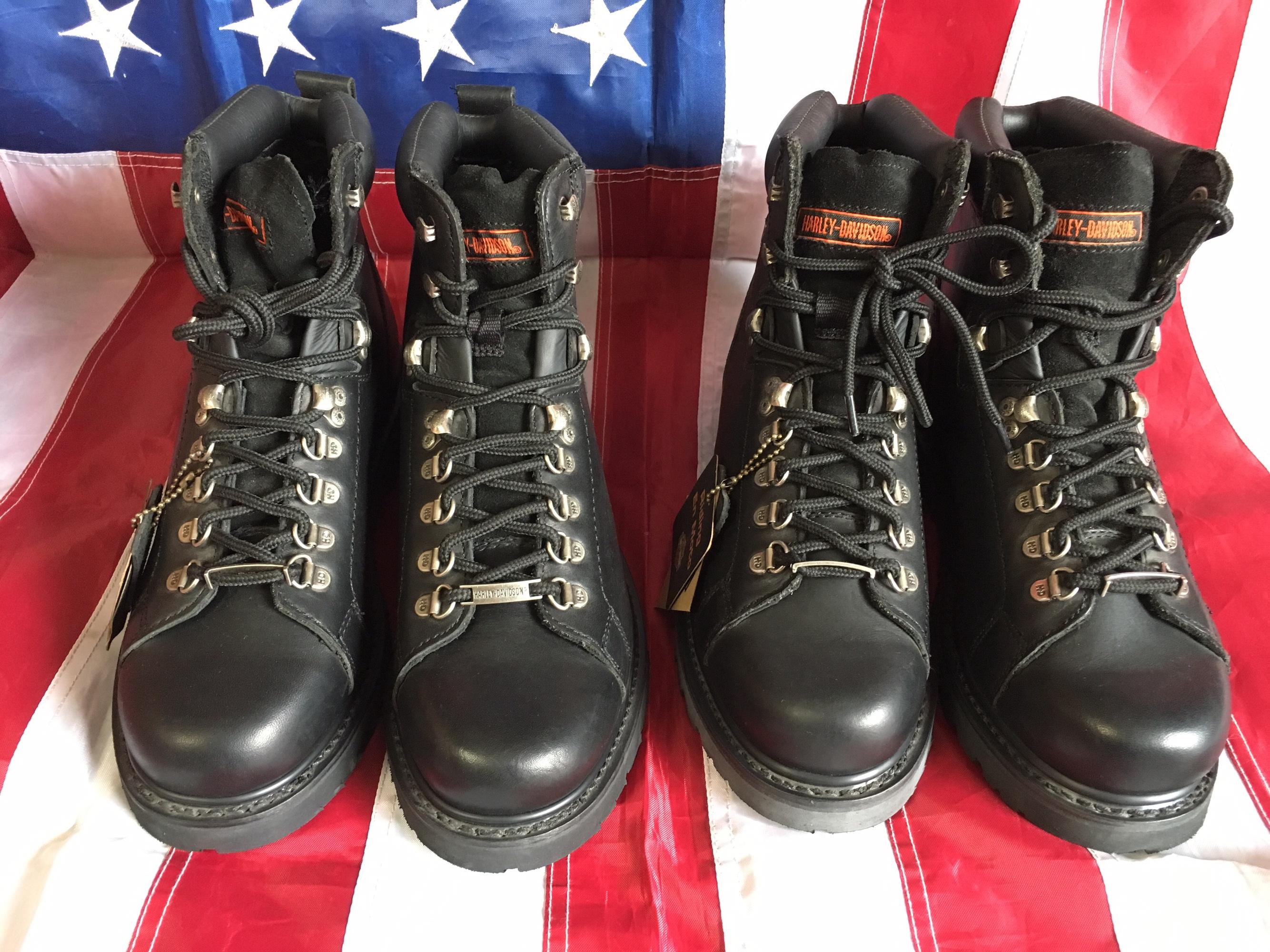 哈雷 HARLEY-DAVIDSON 摩托靴 工作靴 全新