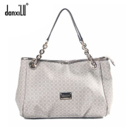 Italy luxury brand danxilu authentic European fashion female package email checked mobile business OL women bags