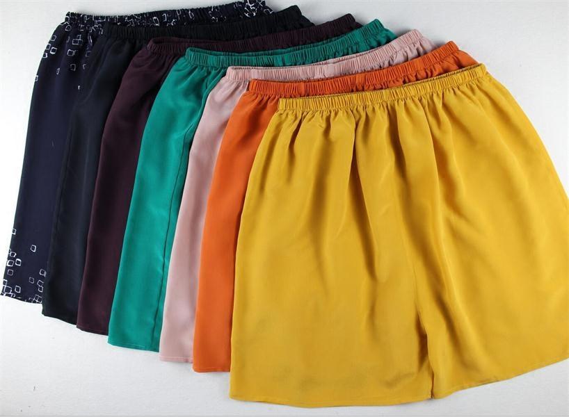 真丝男士沙滩裤 大号短裤 桑蚕丝热裤 休闲裤 2018年新款
