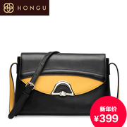 Honggu Hong Gu counters authentic 2015 diagonal package about the fashion cowhide shoulder bag 6296