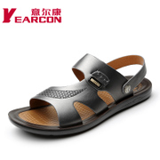 YEARCON/Kang authentic male new fashion shoes 2015 summer beach shoes a breathable men's sandals