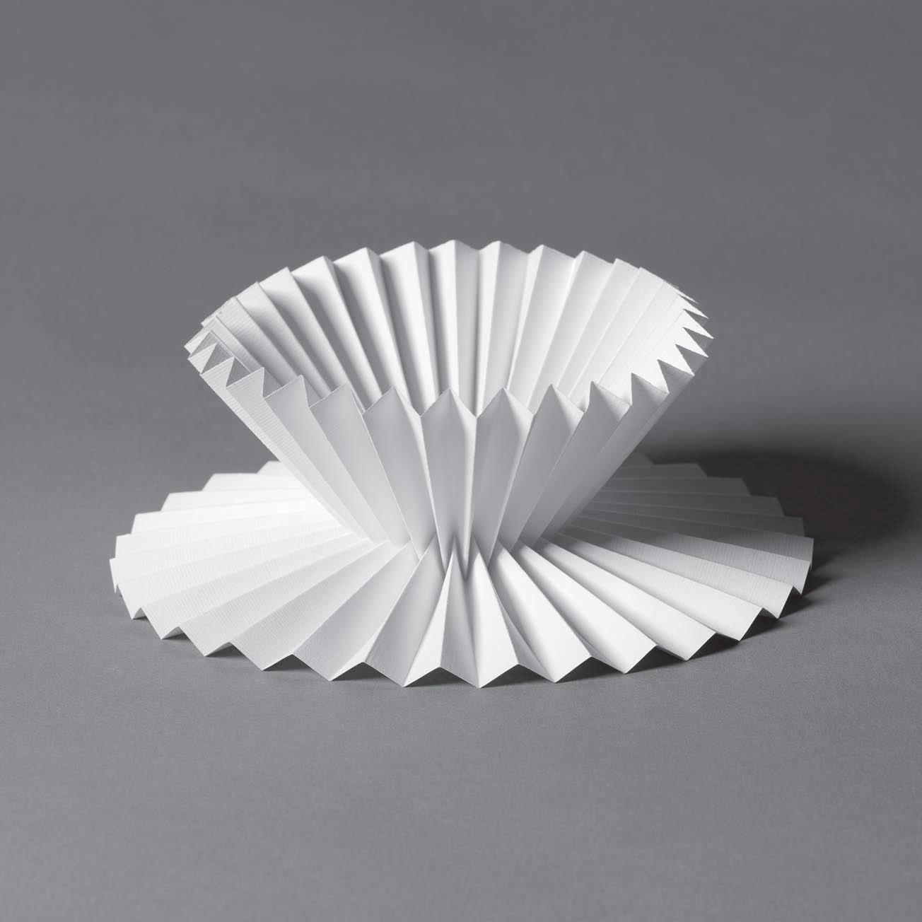 成品实物定做 半立构折纸 半立体肌理构成 立体构成 折纸 z8