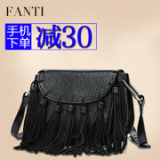 Problem 2015 new wave retro wild tassel bag for fall/winter baodan shoulder bag Messenger bag women bags