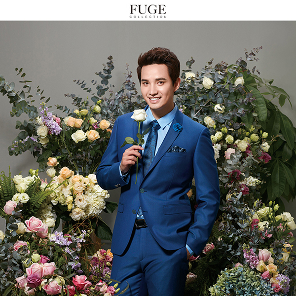 FG/富哥16003 西服套装  新郎装 修体显瘦商务绅士男套装 送衬衫