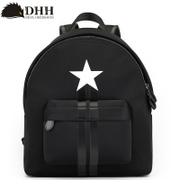 DHH Korean new trends handbags printed backpack outdoor sports and leisure bags cute mini nylon bag