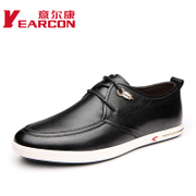 Italian con men's genuine fall 2015 new fashion trend of the Korean men's leather casual shoes
