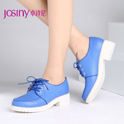 Zhuo Shini new spring shoes women's comfort casual Korean version of female shoes with chunky heels with 143162540