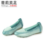 Tilly 2015 spring flat women's shoes leather cool foot pregnant mom shoes at Doug comfortable leisure shoes