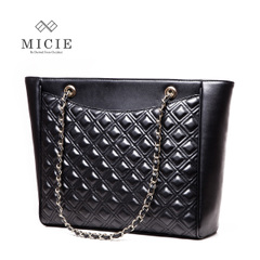 Micie retro rhombic tote bag handbag bag middle-aged female new 2015 Europe and large bag for Joker