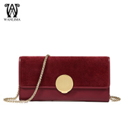 Wanlima/early spring new fashion handbags around 2016 small baodan shoulder-slung chain fashion handbags