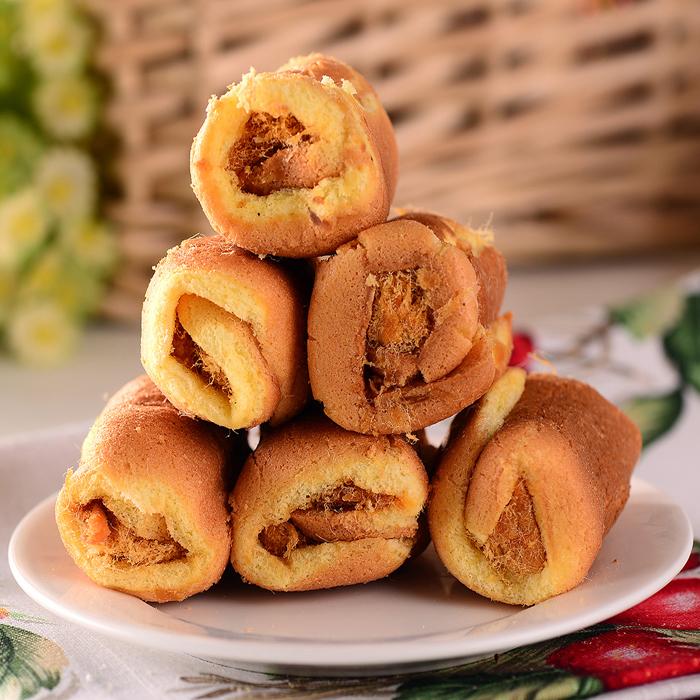 年货满包邮中华名吃传统特色糕点心零食台湾法式肉松卷蛋糕零添加