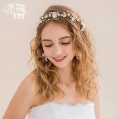 United States, so the new bride Crown tiara wedding hair accessories Bridal Accessories gift box A1208