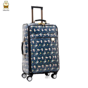 2015 North bag Korean trolley caster men 22 inch 24 inch suitcase luggage cabin