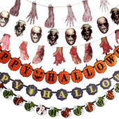 Horrifying Halloween Banner Decoration