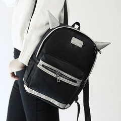 About female beauty for 2015 fall/winter trend of the new Korean cartoon mini Backpack Backpack school bag women