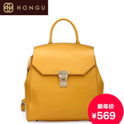 Honggu red Joker fashion Valley 2015 authentic new casual fashion Backpack Backpack 6289